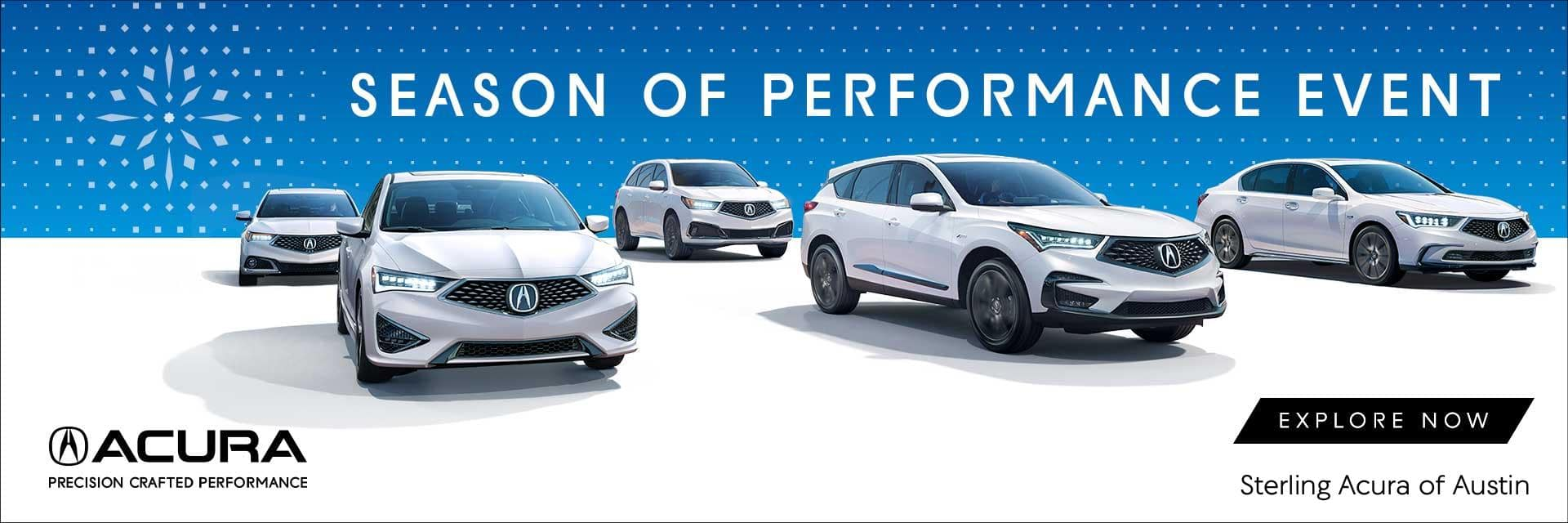 Sterling Acura of Austin - Season of Performance Sales & Service
