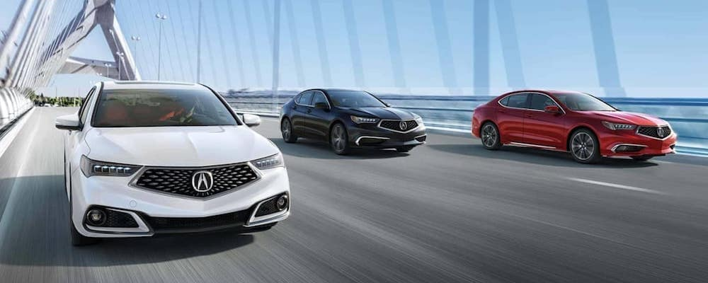 acura tlx models driving