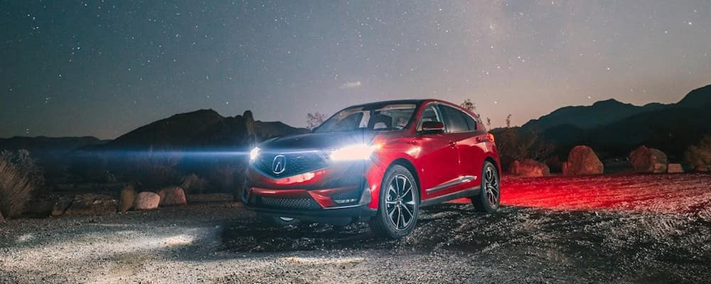 2019 acura rdx at night