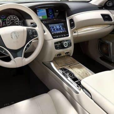 2019 Acura RLX Dash