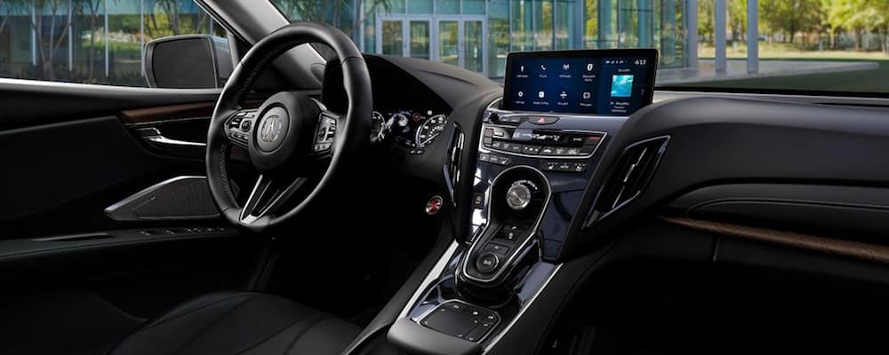 2019 rdx infotainment and steering wheel