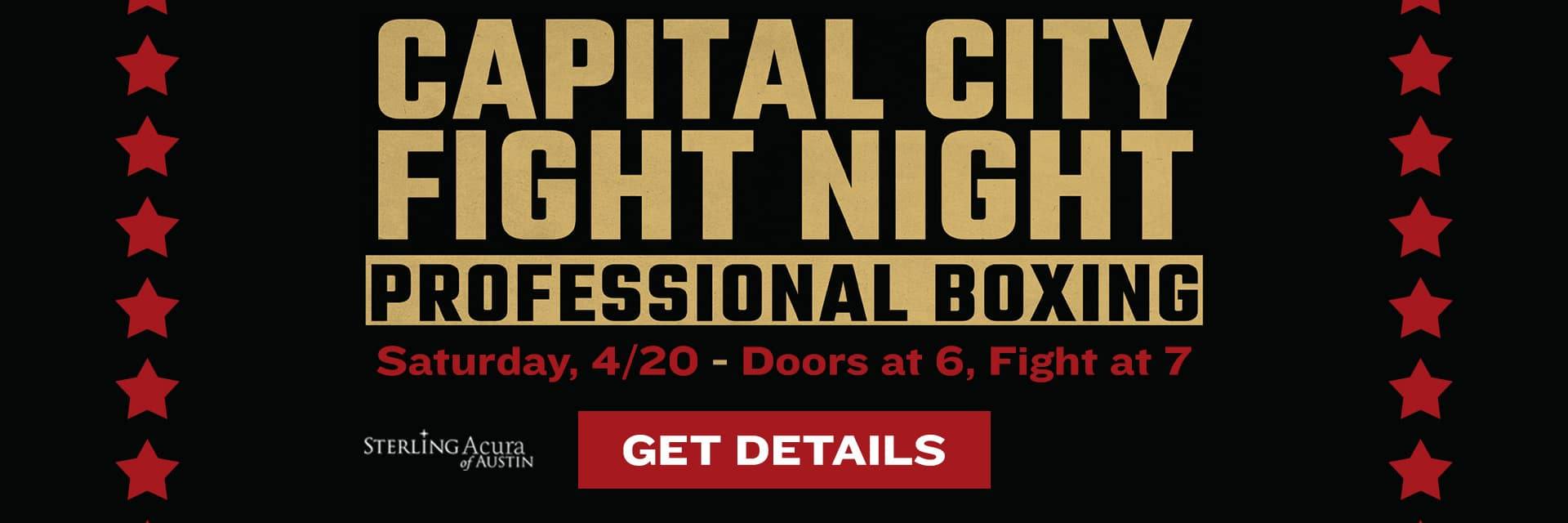 Capital City Fight Night - Get Details
