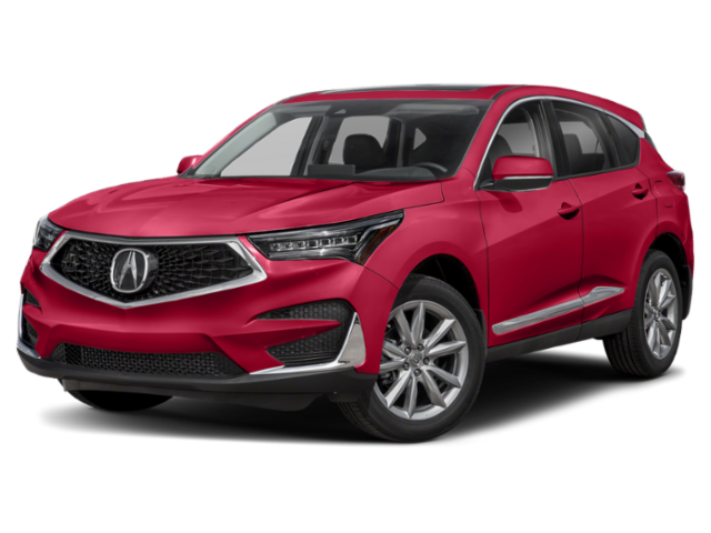 red 2019 rdx profile view