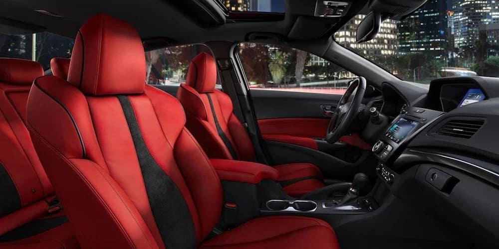 2019 Acura ILX Wide Interior View