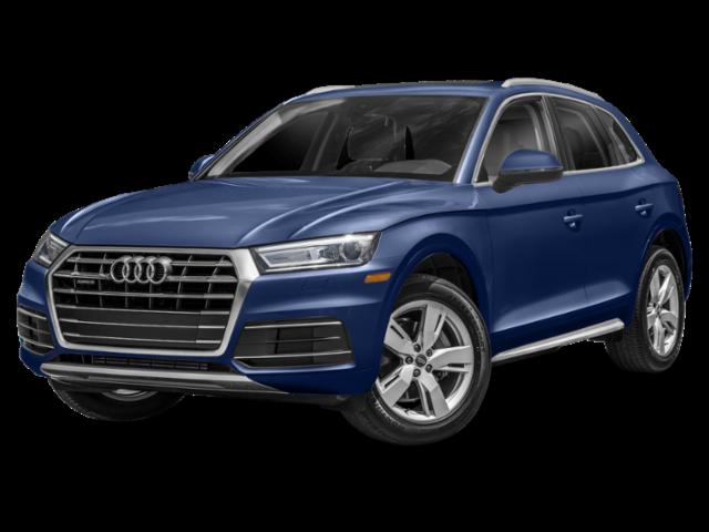 Blue 2019 Audi Q5