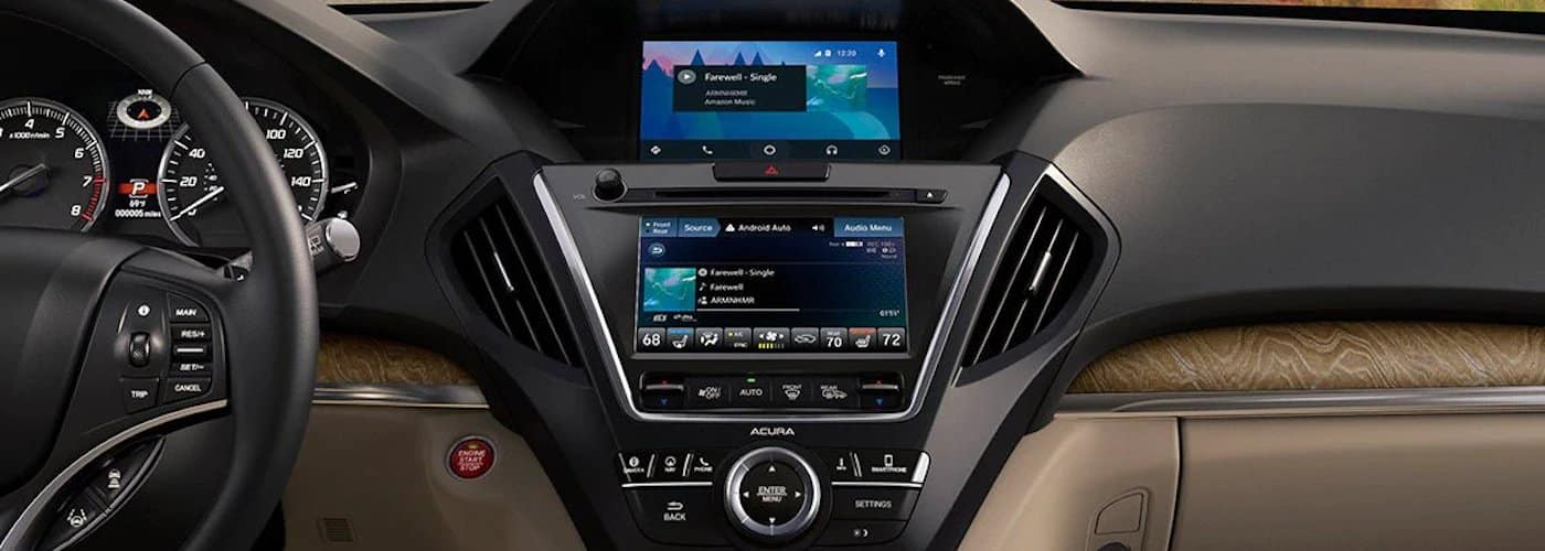 2020 Acura MDX Front Dashboard and Infotainment
