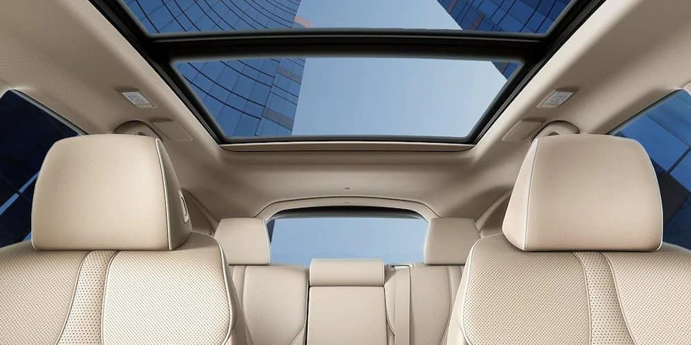 2020 Acura RDX Rear Interior