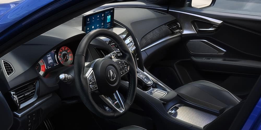 Acura RDX Front Interior and Dashboard