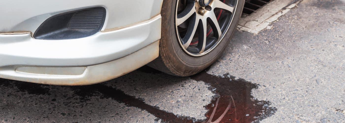 Car Leaking Water
