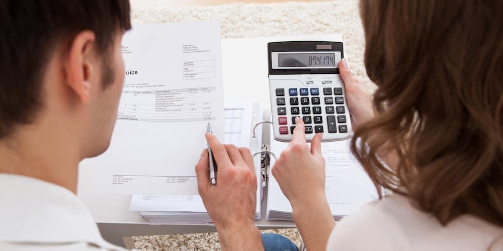 Couple Calculating Finances