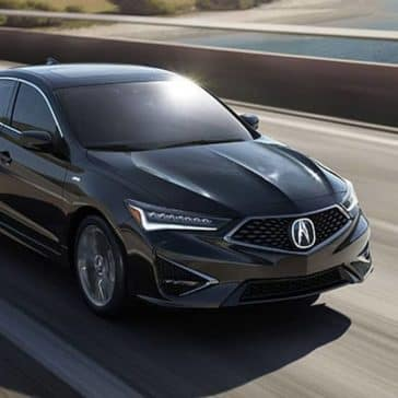 2020 Acura ILX Driving over Bridge