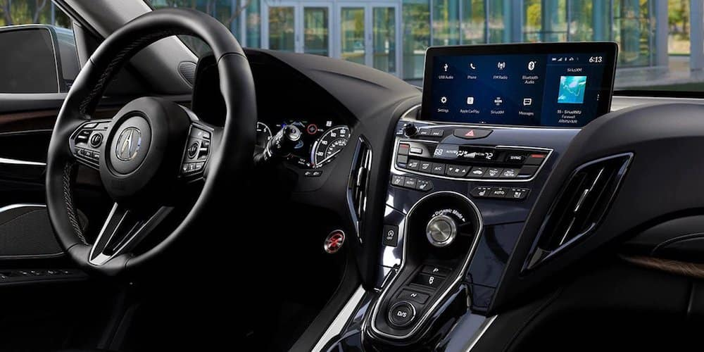 2020 Acura RDX Front Interior and Instrument Cluster