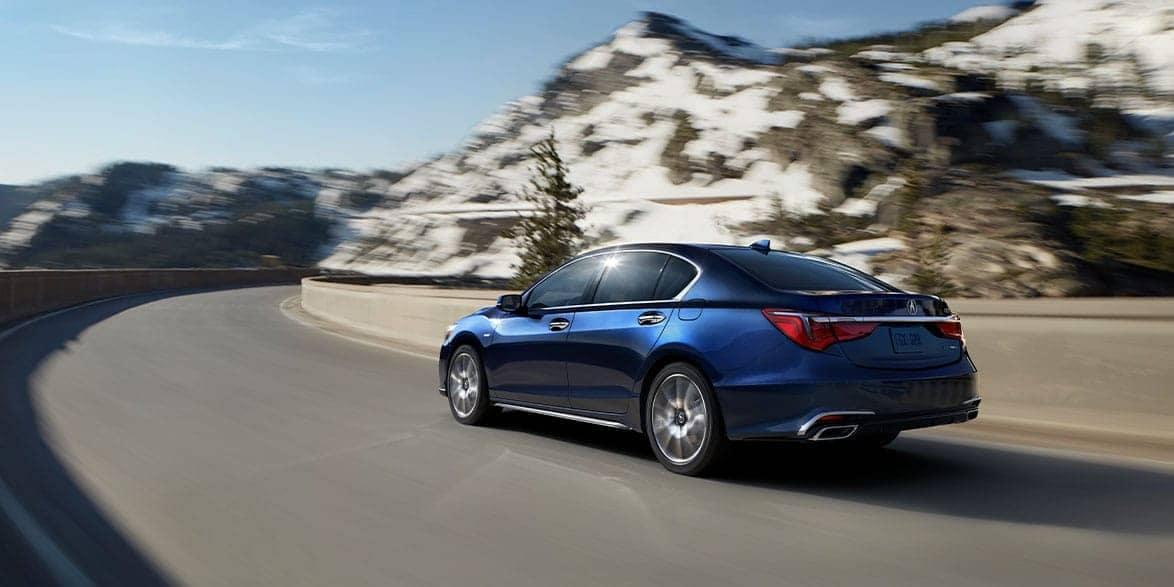 2020 Acura RLX Rear