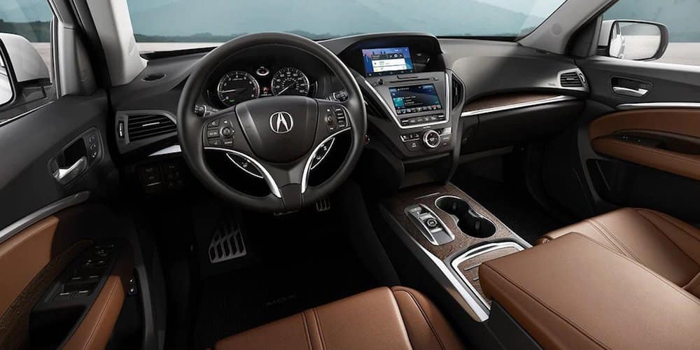 2020 Acura MDX Front Dash and Interior