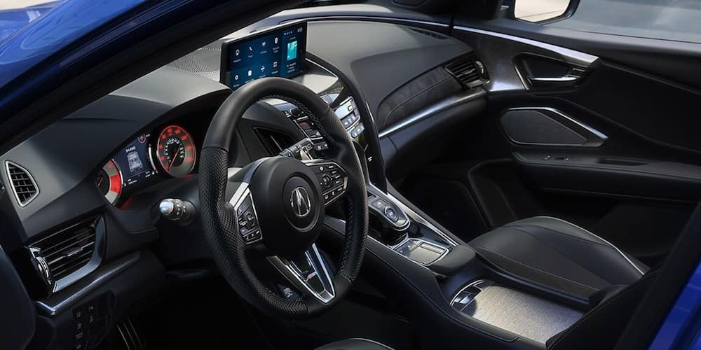 2020 Acura RDX Front Dash and Interior