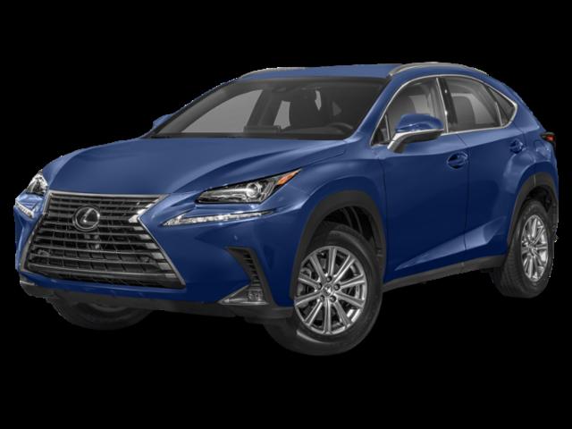 Blue 2020 Lexus NX