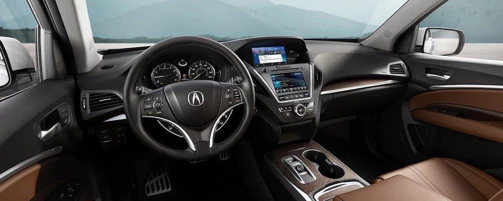 2020 Acura MDX Front Interior and Dash