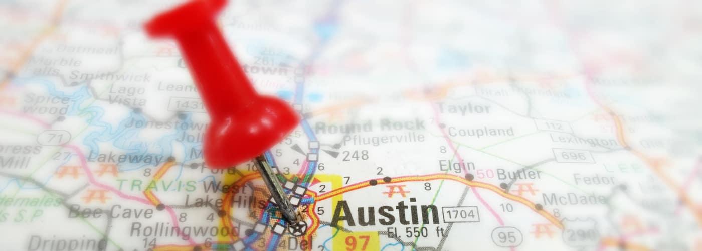 Austin Map Pin