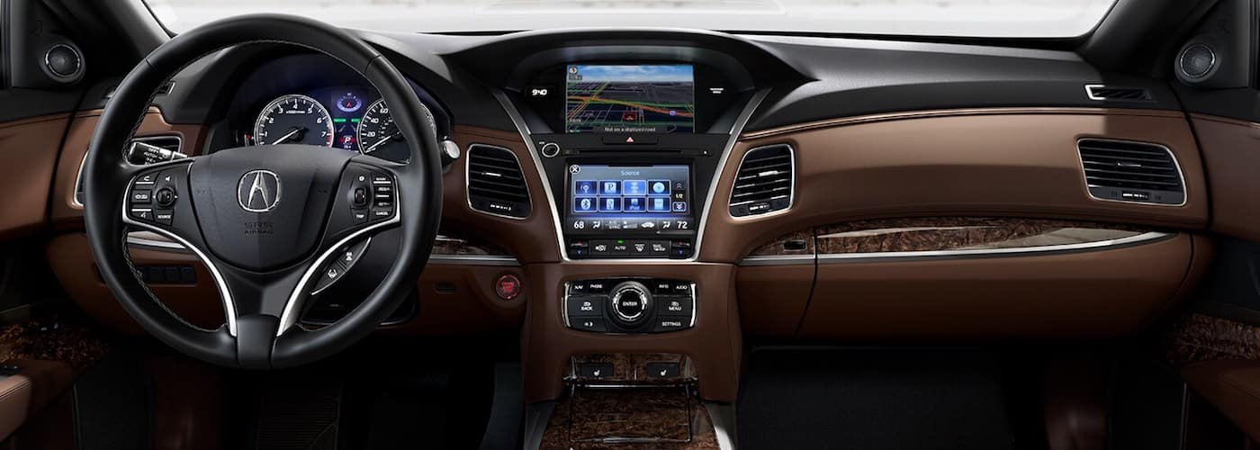 2020 Acura RLX Front Interior