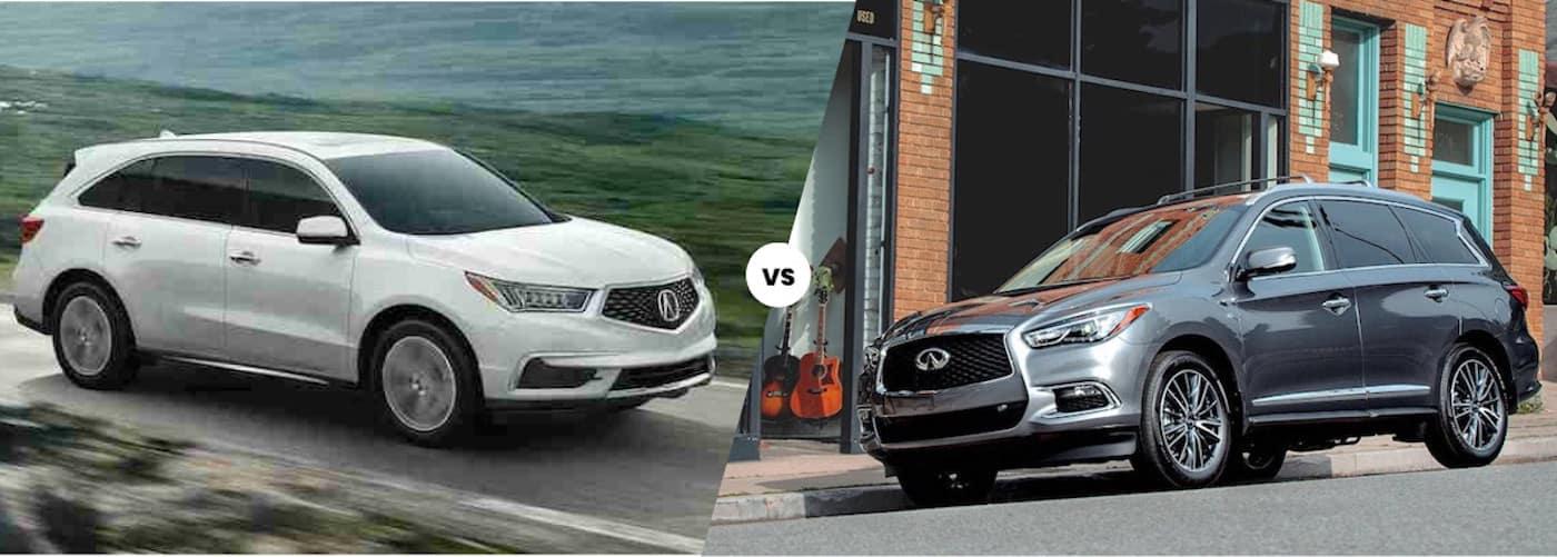 2020 Acura MDX vs. 2020 INFINITI QX60