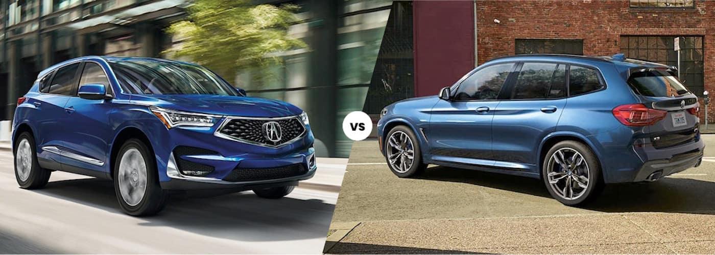2021 Acura RDX vs. 2021 BMW X3