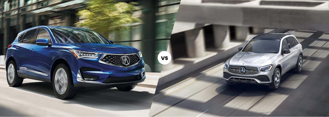 2021 Acura RDX vs. 2021 Mercedes-Benz GLC