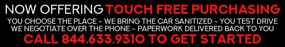 Touch Free Purchasing
