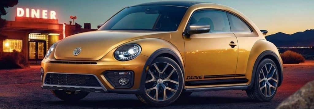The 2018 VW Beetle Dune.