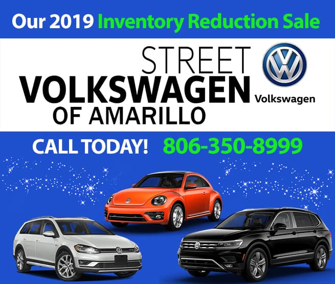 2019 Volkswagen Inventory Reduction Sale