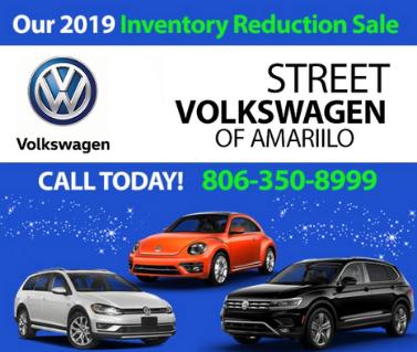 2019 Volkswagen Inventory Reduction Sale