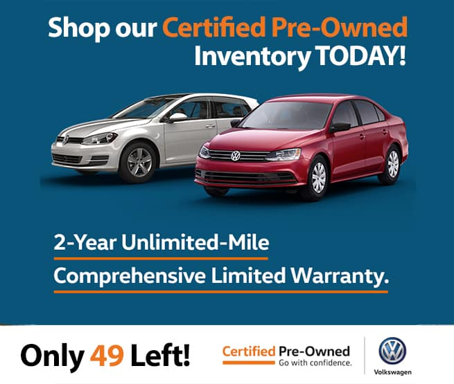 Shop Our Certified Pre-Owned Inventory Today!