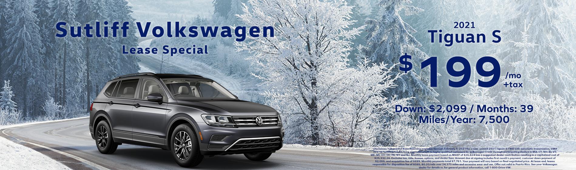 Sutliff VW_Tiguan Lease Special_Jan 2021