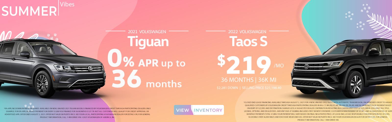 Tiguan + Atlas_July 2021 Special