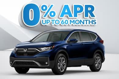 New 2020 Honda CR-V Models