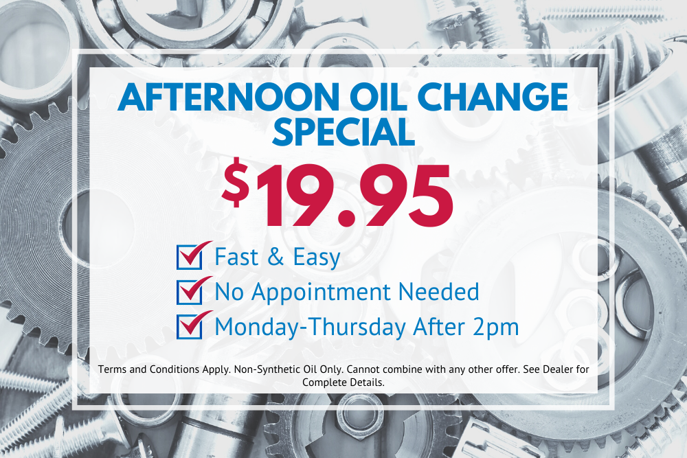 Oil Change Deal Houston