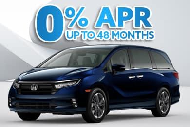 New 2021 Honda Odyssey Models