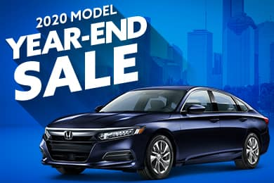 2020 Model Year End Sale