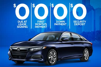 Lease a New 2020 Accord for $269/Month