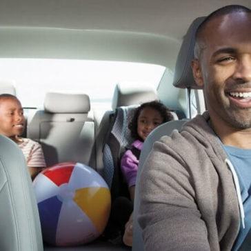 2017 Volkswagen Passat Interior Driving