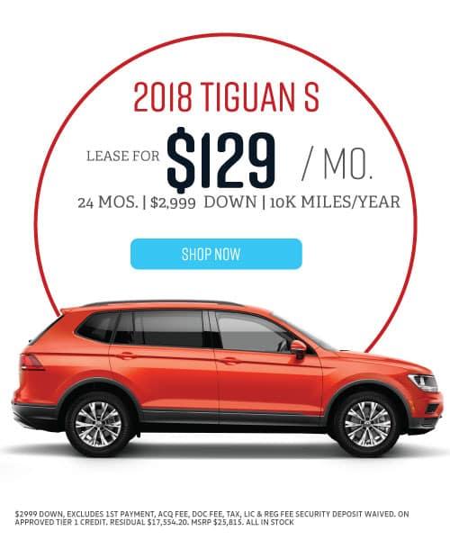 2018 Tiguan S