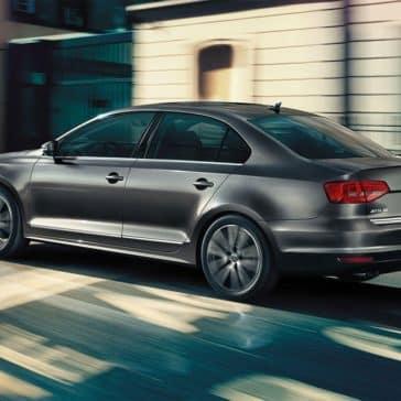 2018 Volkswagen Jetta driving rearview