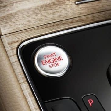 2018 Volkswagen Passat Push to Start Button
