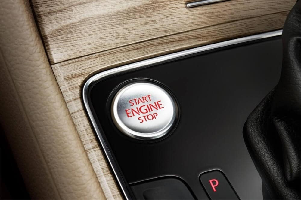 2018 Volkswagen Passat Push to Start Button
