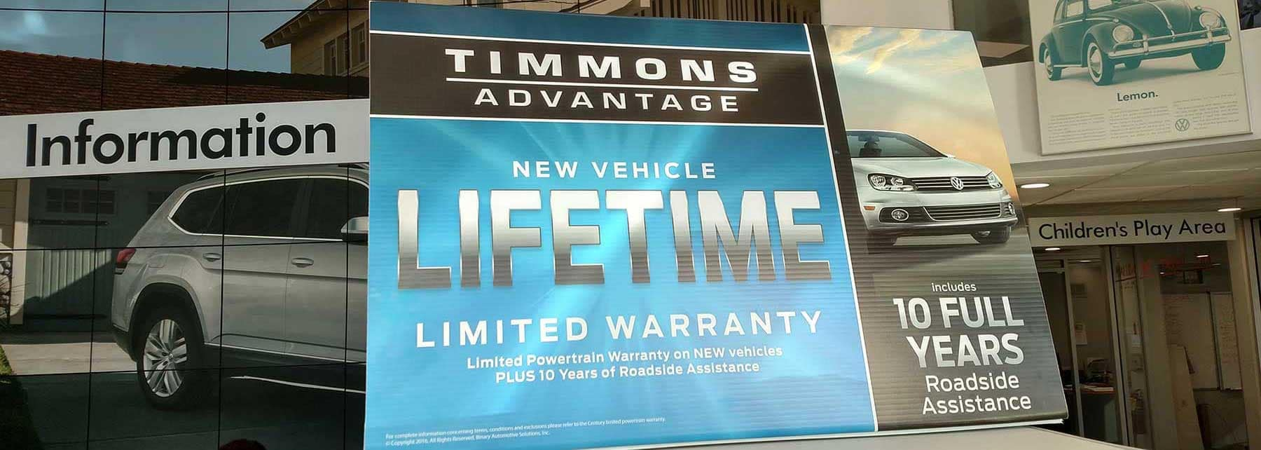 New Vehicle Lifetime Limited Warranty