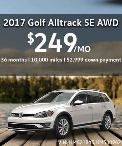 2017 Golf Alltrack SE