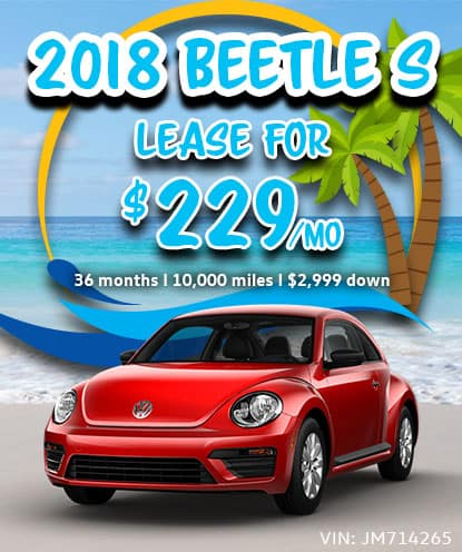 2018 Beetle S Lease