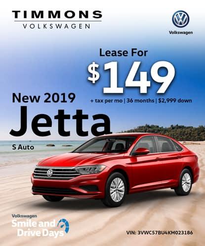 New 2019 Jetta 1.4T S Automatic