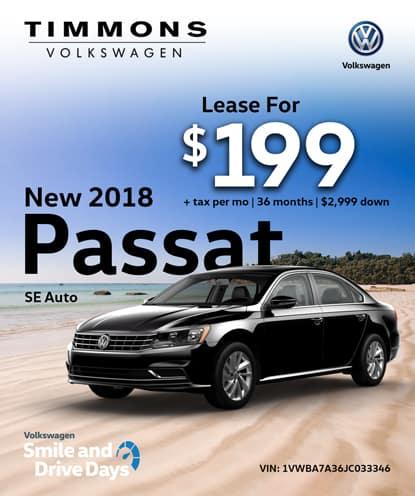 New 2018 Passat SE Automatic