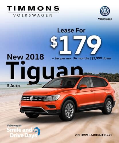 New 2018 Tiguan S Automatic