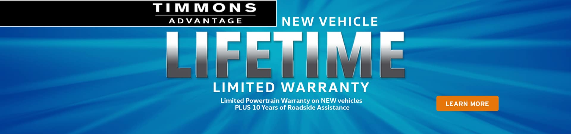 Lifetime Warranty at Timmons Long Beach